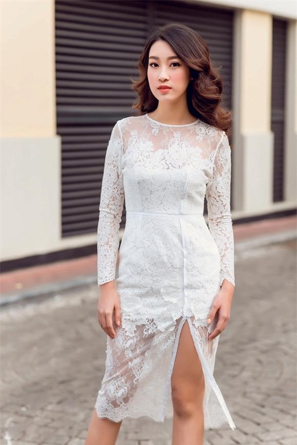 Hoa hậu Mỹ Linh xuống phố 0
