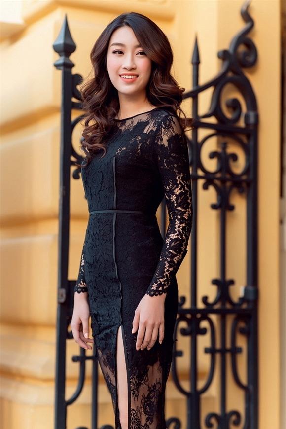 Hoa hậu Mỹ Linh xuống phố 3