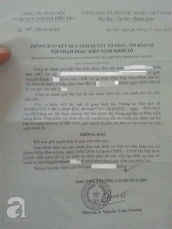 Vụ bé gái 3 tuổi tố cáo ông lão 68 tuổi hiếp dâm: Công an đến là nghi can báo đi bệnh viện - Ảnh 4.