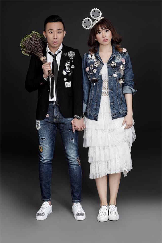 Hé lộ loạt ảnh cưới chưa từng công bố của Trấn Thành - Hari Won - Ảnh 10.