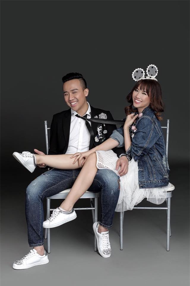 Hé lộ loạt ảnh cưới chưa từng công bố của Trấn Thành - Hari Won - Ảnh 11.