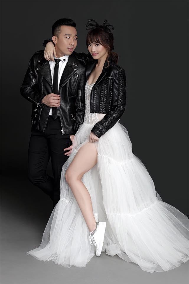 Hé lộ loạt ảnh cưới chưa từng công bố của Trấn Thành - Hari Won - Ảnh 12.