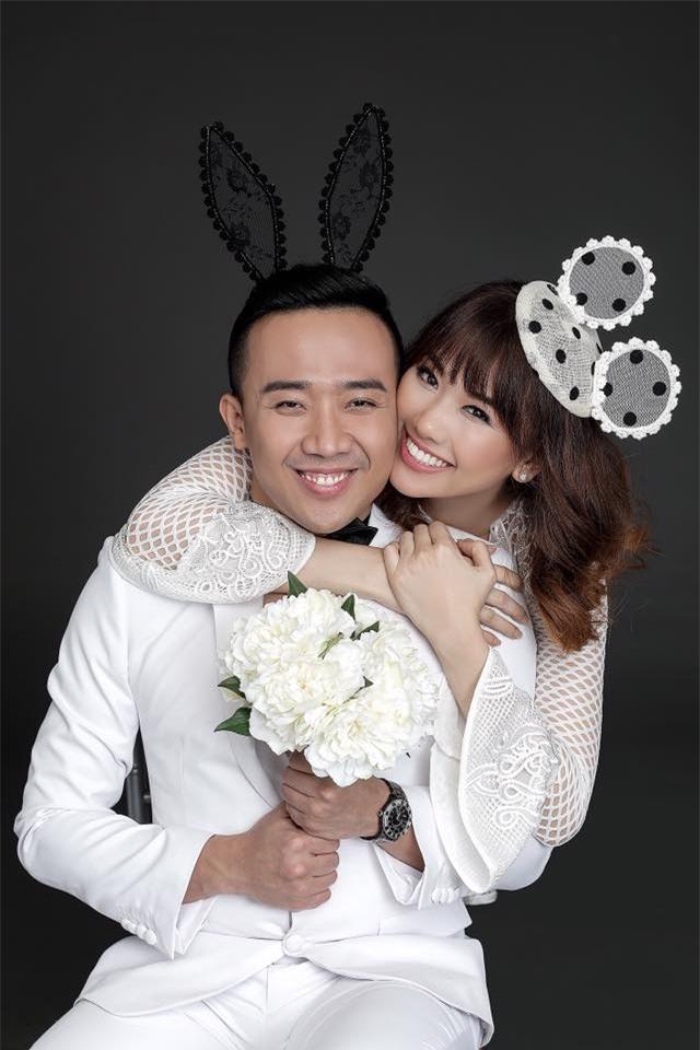 Hé lộ loạt ảnh cưới chưa từng công bố của Trấn Thành - Hari Won - Ảnh 8.