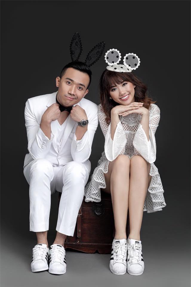 Hé lộ loạt ảnh cưới chưa từng công bố của Trấn Thành - Hari Won - Ảnh 9.