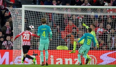 Bilbao có chiến thắng xứng đáng trước Barca
