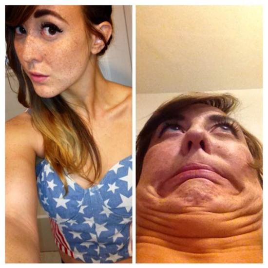 Ranh giới giữa ngự tỷ và quái vật khi selfie là vô cùng mỏng manh - Ảnh 19.