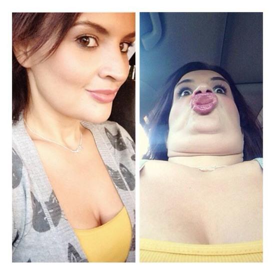 Ranh giới giữa ngự tỷ và quái vật khi selfie là vô cùng mỏng manh - Ảnh 11.