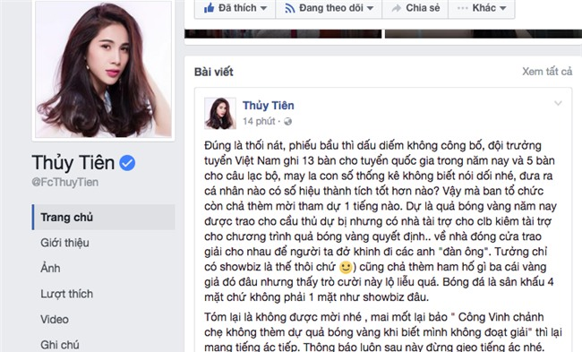 "so vo doi, cong vinh ""nhac kheo"" thuy tien: bong da la viec dan ong hinh anh 1"