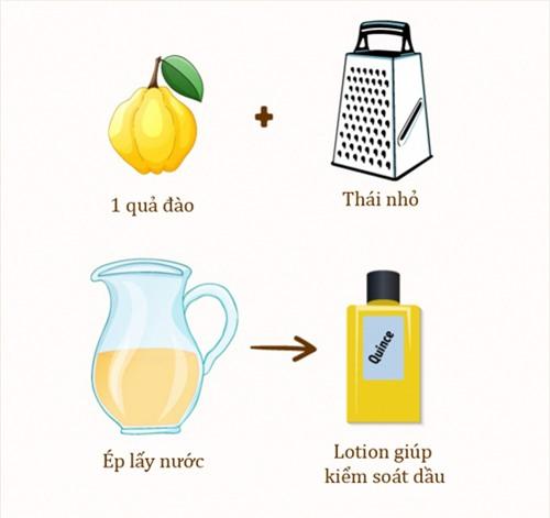 Phụ nữ Thổ Nhĩ Kỳ lại dùng nước ép quả đào làm lotion kiểm soát dầu thừa trên da.