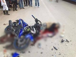Chàng trai và cô gái tử nạn trên đường về Hà Nội sau khi uống rượu cùng đoàn phượt 160 người - Ảnh 1.