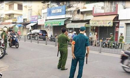 Nã súng bắn chết người ở SG: Trinh sát tinh nhuệ vào cuộc - 1