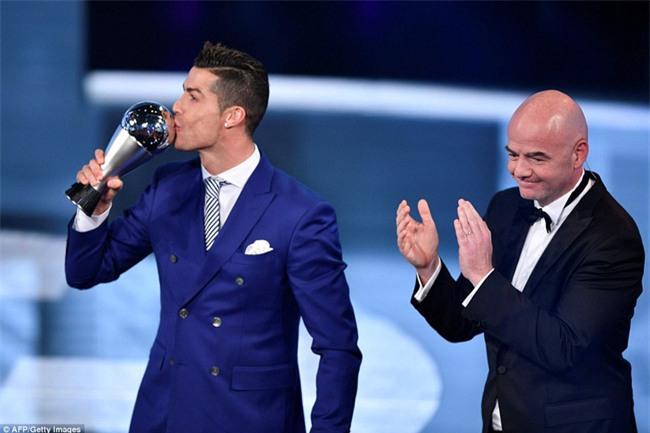 Ronaldo đoạt giải Cầu thủ hay nhất năm 2016 của FIFA - Ảnh 1.