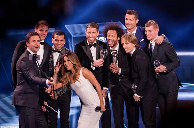 Ronaldo đoạt giải Cầu thủ hay nhất năm 2016 của FIFA - Ảnh 3.