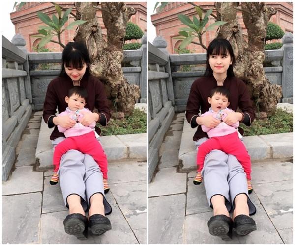 Cái Tết đầu tiên ấm áp nụ cười của em bé Lào Cai suy dinh dưỡng bên mẹ nuôi 9X - Ảnh 11.
