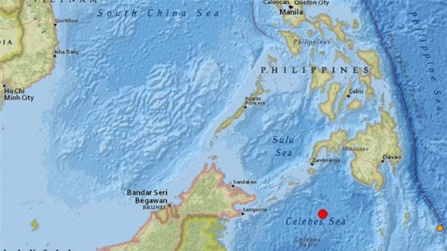 Động đất mạnh 7,3 độ Richter ở Philippines - Ảnh 1.