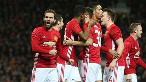 M.U duy trì thành tích toàn thắng 9 trận liên tiếp