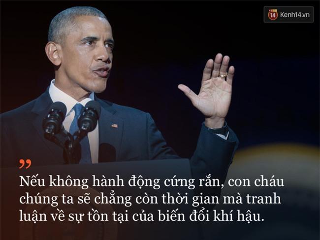 9 câu nói ấn tượng trong bài phát biểu cuối cùng khép lại hành trình 8 năm của Tổng thống Barack Obama với nước Mỹ - Ảnh 4.