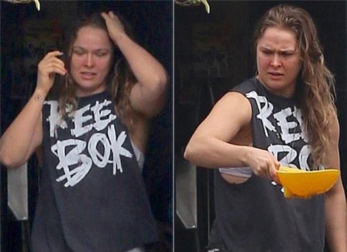 """""""Nữ hoàng UFC"""" tiều tụy, bóng gió giải nghệ - 1"""