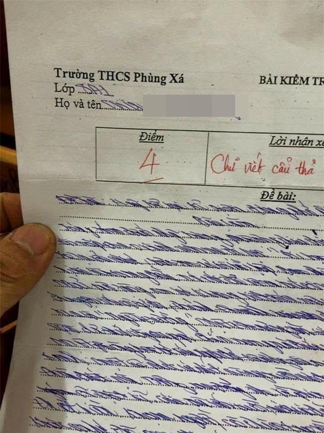 Clip: Học sinh lớp 8 viết chữ siêu xấu có biểu hiện chán học, sa sút chểnh mảng - Ảnh 2.