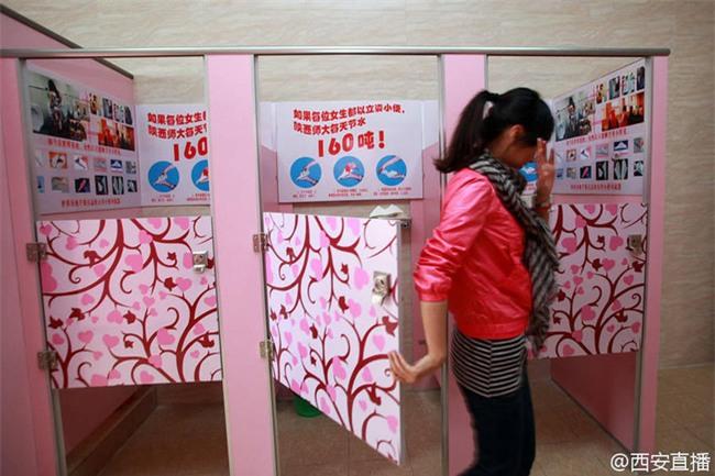 Trung Quốc: Trường Đại học yêu cầu nữ sinh đi vệ sinh đứng để tiết kiệm nước - Ảnh 3.