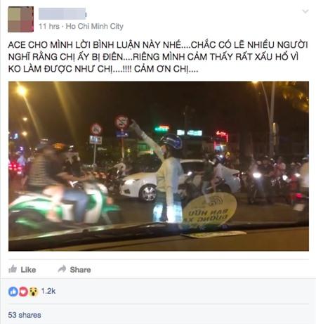 Clip: Nữ ninja xuống phố điều tiết giao thông giờ cao điểm - Ảnh 2.