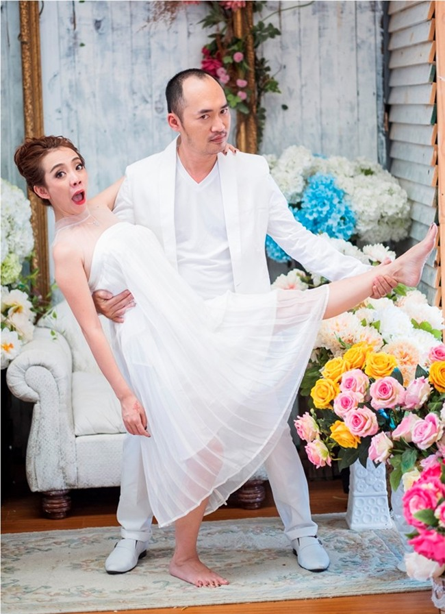 Thu Trang, Tien Luat lan dau tung anh cuoi sau 6 nam ket hon hinh anh 8