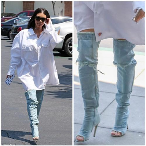 jeans roi vao tay kim kardashian tro thanh nhung mot kho coi nhat qua dat - 3