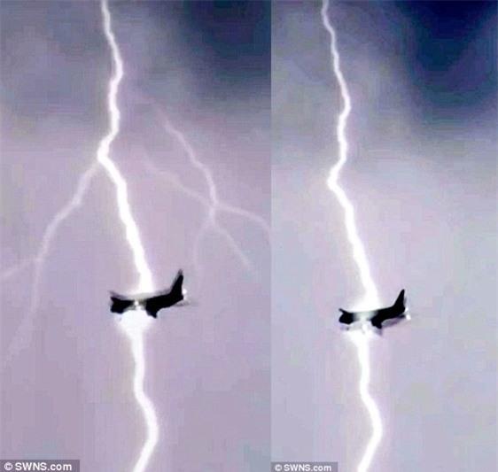 Khoảnh khắc kinh hoàng chiếc máy bay Boeing 747 bị sét đánh trúng giữa trời - Ảnh 2.
