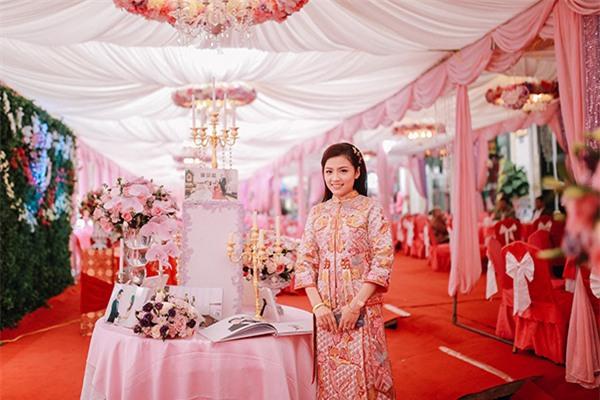 Cô dâu chi nửa tỉ tổ chức đám cưới lộng lẫy hàng đầu Lạng Sơn - Ảnh 3.