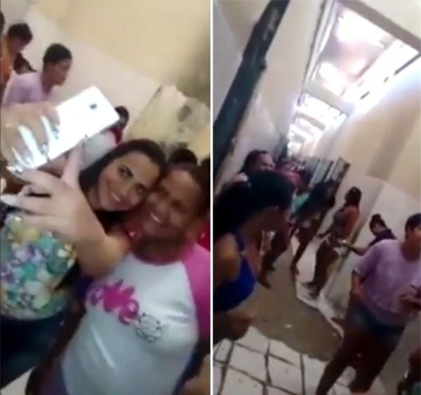 Clip: Hàng loạt nữ tù nhân mở tiệc ăn chơi, thác loạn trong tù như trong vũ trường - Ảnh 4.