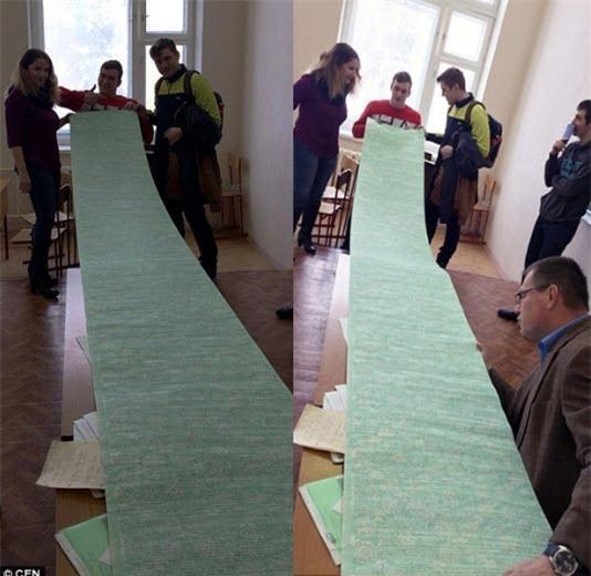 """Sinh viên Nga lập """"kỷ lục"""" với chiếc phao thi lớn nhất thế giới - 1"""