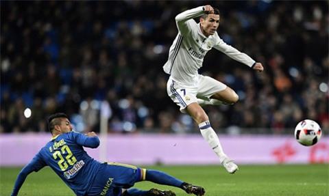 Ronaldo có trận đấu thất vọng