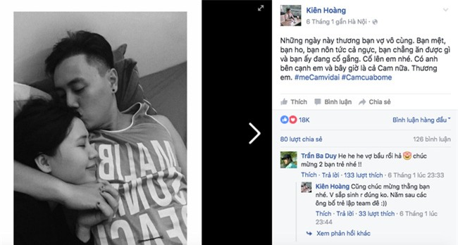 Những anh chồng Việt chuẩn soái ca của các hot girl: Không những đẹp trai mà còn biết đội vợ lên đầu - Ảnh 20.