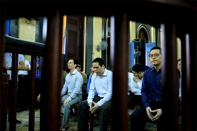Các bị cáo từng là thuộc cấp của Phạm Công Danh và là đồng phạm của bị cáo Danh trong vụ đại án VNCB.