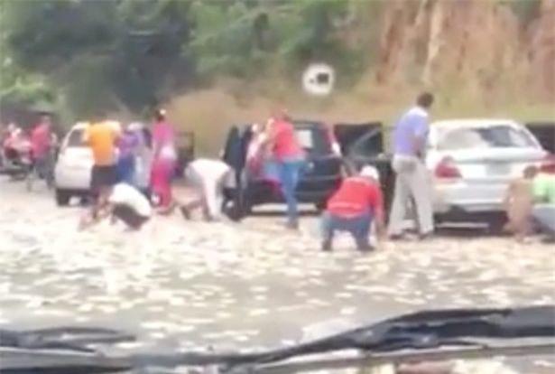 Sau tai nạn ô tô, người dân thi nhau hôi của mặc nạn nhân thoi thóp trên đường - Ảnh 2.