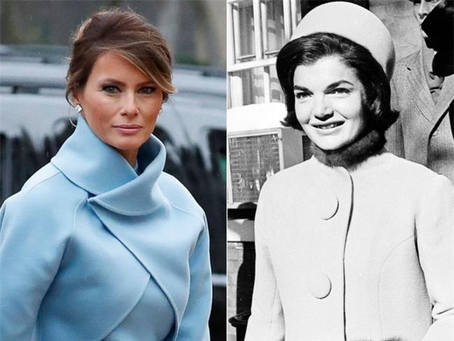 Trong lễ nhậm chức, bà Trump đã xào ngay phong cách thời trang của hai cựu Đệ nhất phu nhân! - Ảnh 4.