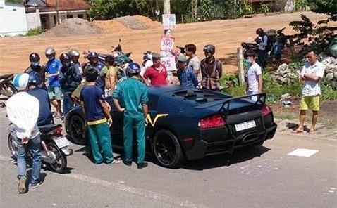 Sieu xe Lamborghini tong chet nguoi o Dong Nai hinh anh 1