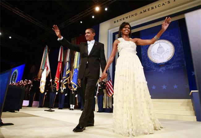 Các Đệ nhất phu nhân Mỹ xinh đẹp nhường nào trong dạ tiệc khiêu vũ mừng lễ nhậm chức của chồng? - Ảnh 16.
