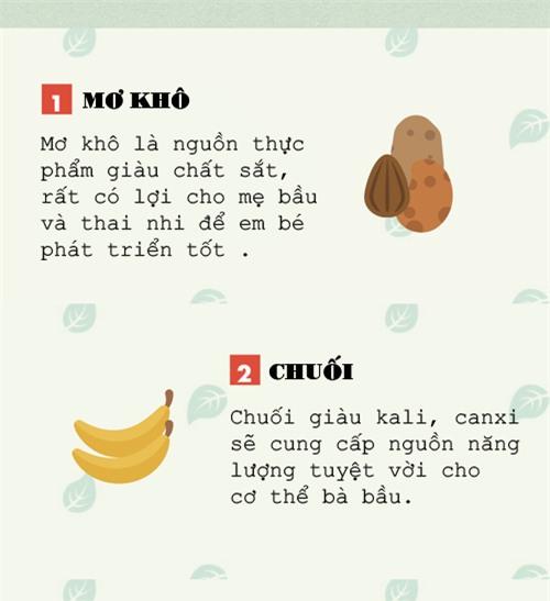 nhung sieu thuc pham da duoc chung minh la tot nhat cho thai nhi - 2