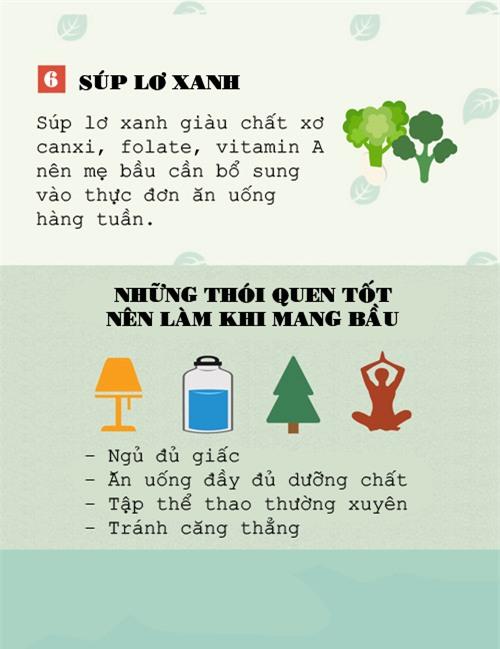 nhung sieu thuc pham da duoc chung minh la tot nhat cho thai nhi - 5