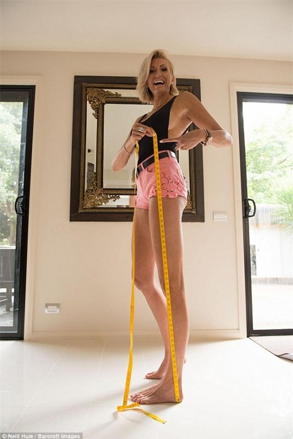 chuyện lạ, kỷ lục thế giới, người có đôi chân 1,31, người có đôi chân dài nhất thế giới