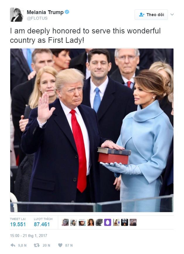 Nhiều người lo lắng khi nhìn thấy những hình ảnh này của Đệ nhất phu nhân Mỹ Melania Trump - Ảnh 10.