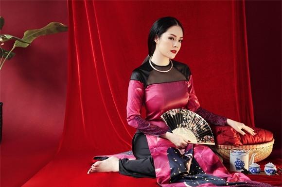 Dương Cẩm Lynh, áo dài 2017
