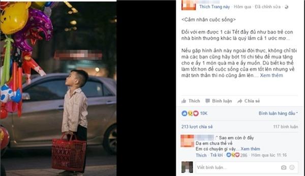 Sự thật bất ngờ về cậu bé đánh giày đang gây bão cộng đồng mạng - Ảnh 1.