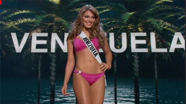 Bán kết Hoa Hậu Hoàn Vũ: Lệ Hằng nổi bật với màn trình diễn bikini - Ảnh 11.