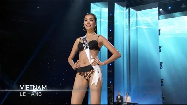 Bán kết Hoa Hậu Hoàn Vũ: Lệ Hằng nổi bật với màn trình diễn bikini - Ảnh 12.