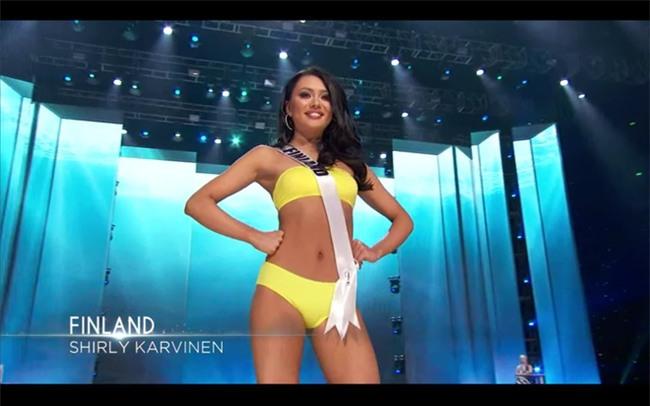 Bán kết Hoa Hậu Hoàn Vũ: Lệ Hằng nổi bật với màn trình diễn bikini - Ảnh 18.