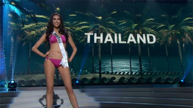 Bán kết Hoa Hậu Hoàn Vũ: Lệ Hằng nổi bật với màn trình diễn bikini - Ảnh 8.