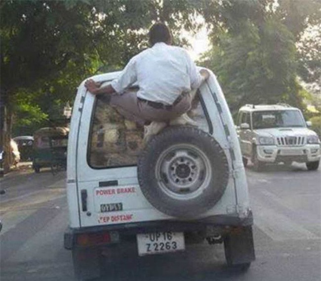 Những hình ảnh chỉ có ở Ấn Độ khiến bạn cười không nhặt được mồm - Ảnh 10.