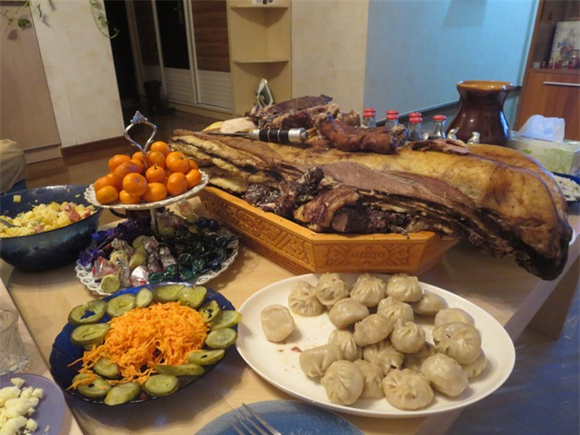 Những món ăn cầu may vào dịp Tết Nguyên đán của người Châu Á - Ảnh 8.